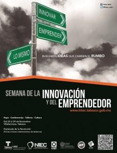 Cartel Semana de la innovacion