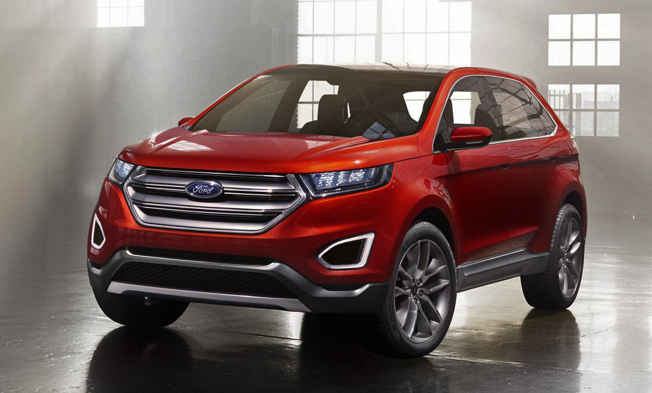 suvs ford edge concept multipress. Black Bedroom Furniture Sets. Home Design Ideas