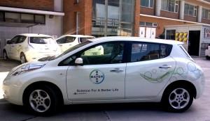 Imagen 2_ Nissan LEAF ya forma parte de la flotilla de Bayer