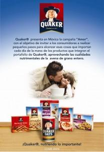 Postal Quaker Amor