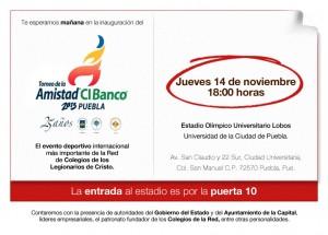 Reminder TorneoAmistad 2013