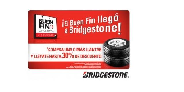 Llegó El Buen Fin y Bridgestone tiene grandes ofertas