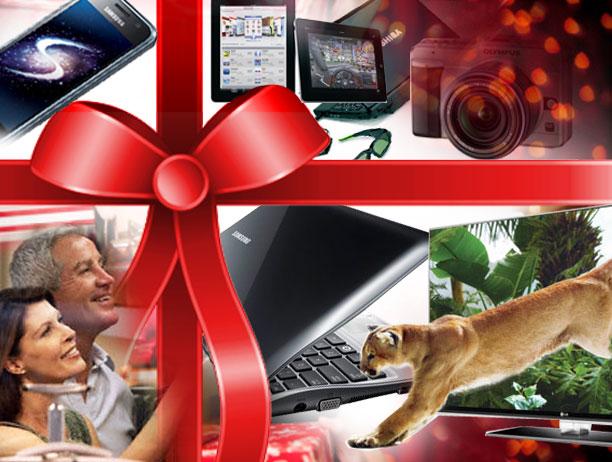 Regalos tecnológicos de Santa