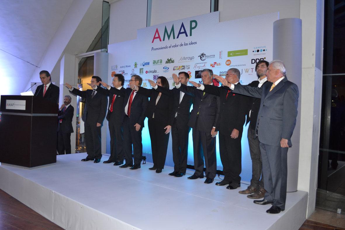 Pedro Torres, Omar Carrión y Luis Purata asumen el reto AMAP
