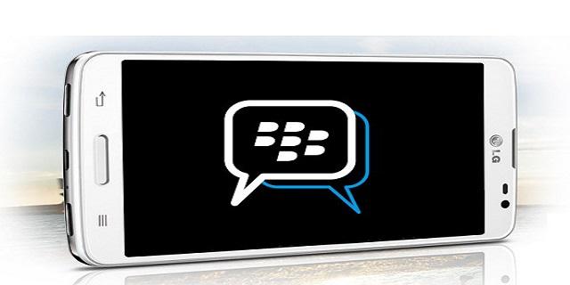 BBM vendrá preinstalado en smartphones LG