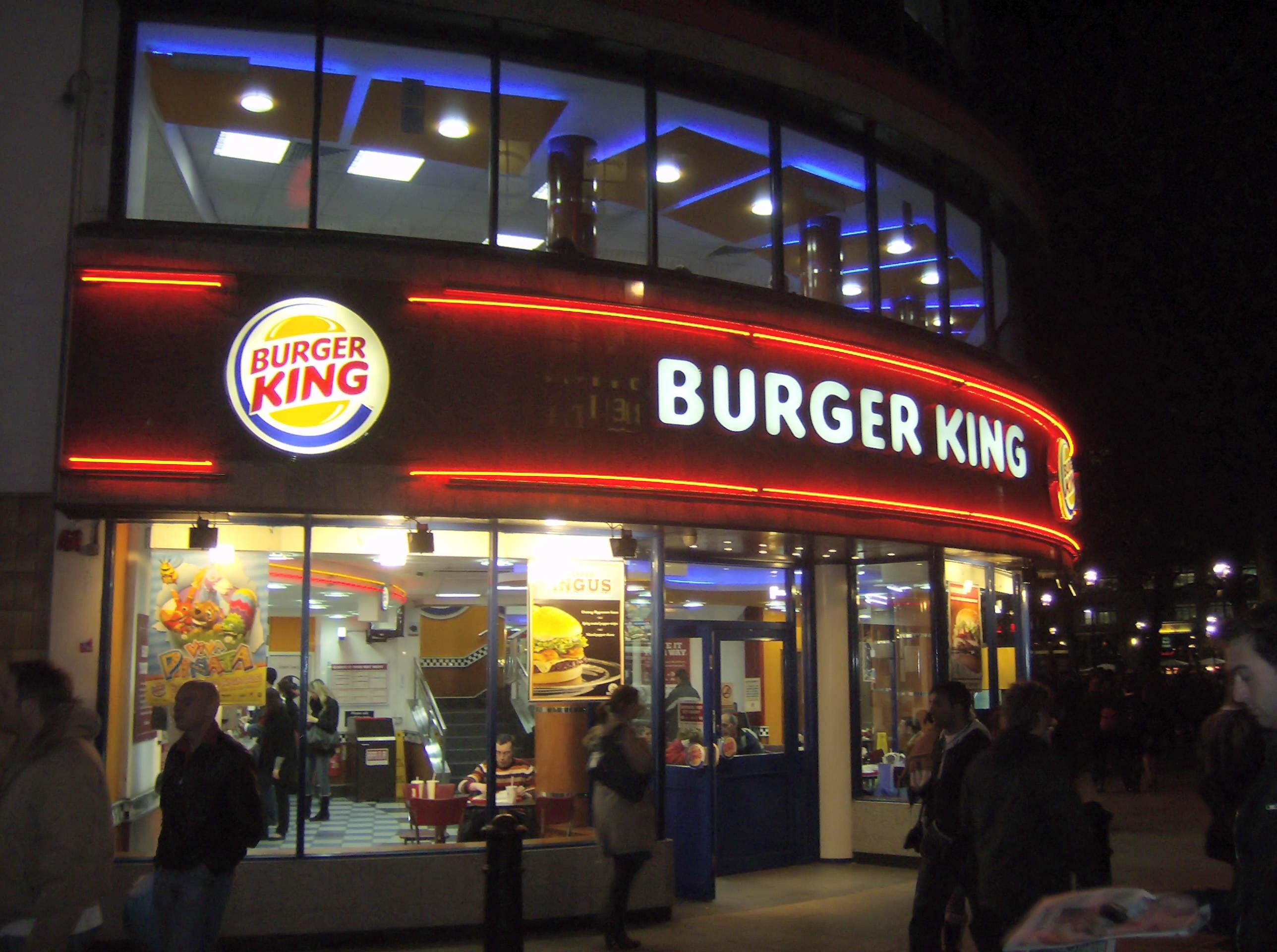 Nuevas cocinas Burger King