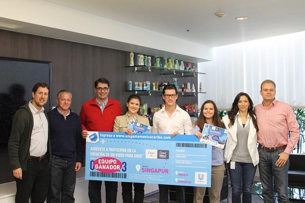 Mexicanos ganan el Reto Unigame 2013 de Unilever