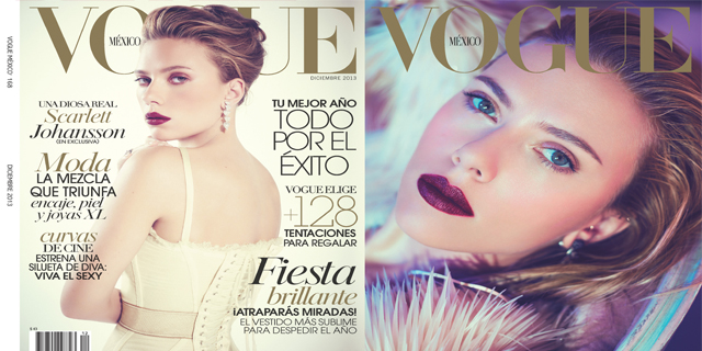 Vogue cierra el año con Scarlett Johansson