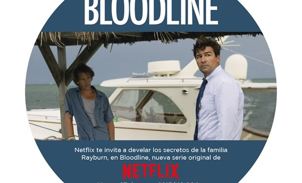 Netflix invitación exclusiva a medios para screening Bloodline