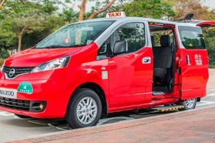 Nissan revela una nueva generación de taxis para Hong Kong basados en su reconocida van NV200
