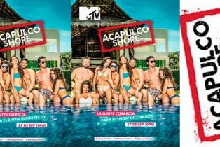 MTV Latinoamérica confirma la 2da. temporada del reality Acapulco Shore