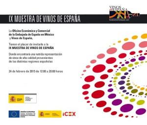 INVITACIÓN_IX Muestra de Vinos de España 2015