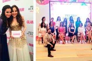 Las hermanas Higareda conducen la ceremonia de los Premios de Belleza Glamour