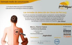 INVITACIÓN CONFERENCIA DE PRENSA DF