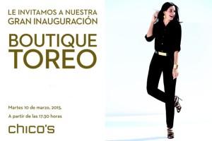 INVITACION CHICO'S TOREO