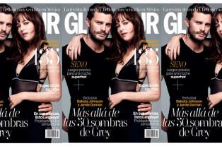 Glamour presenta a los protagonistas de 50 sombras de Grey