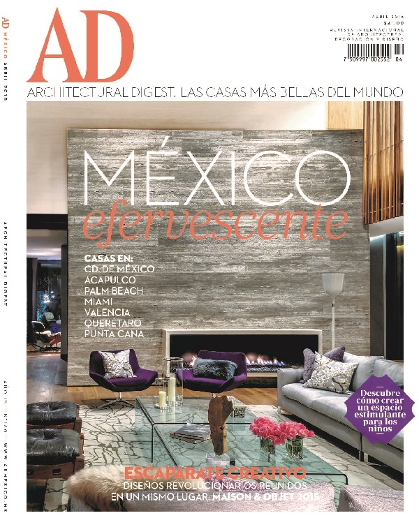 Architectural digest multipress for Revistas de diseno de interiores