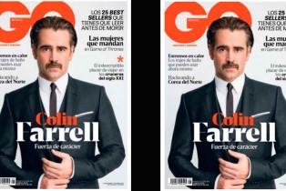 GQ México Junio-Colin Farrell en portada