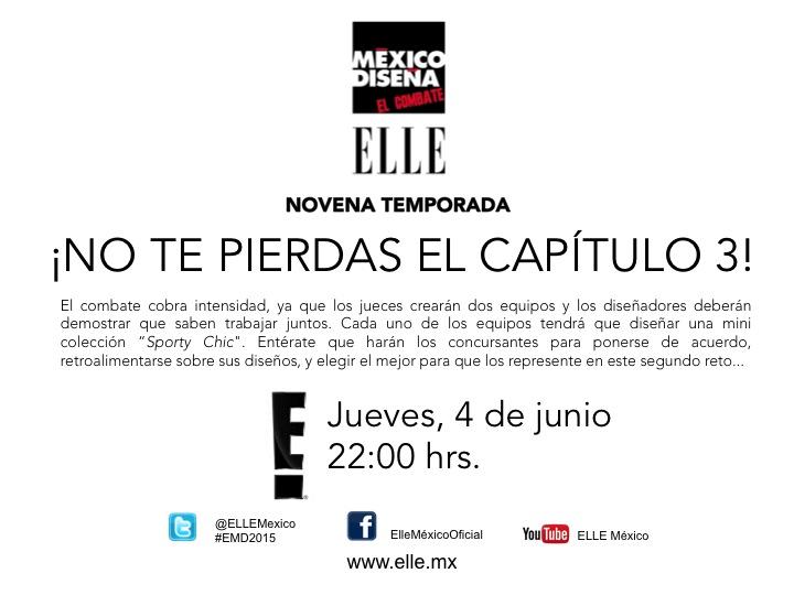 México Diseña - Avance Cap. 3