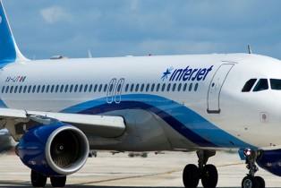 Fortalece Interjet rutas internacionales desde Cancún
