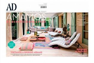 Architectural Digest visita una de las residencias de Giorgio Armani