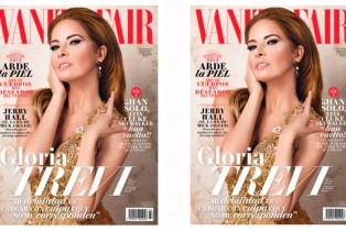 Vanity Fair julio-Gloria Trevi en portada