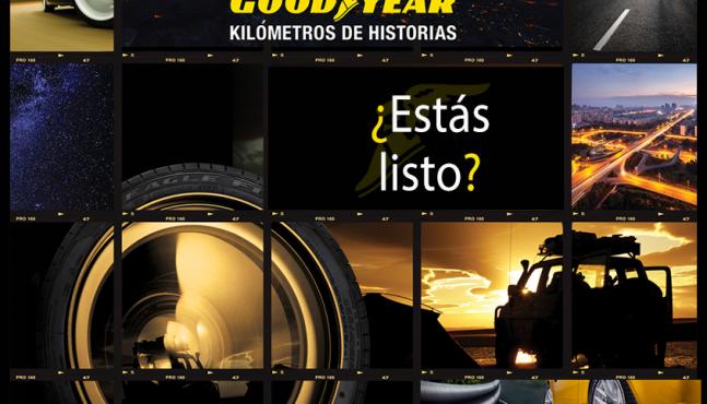 """Goodyear te invita a ser parte del calendario """"Goodyear Kilómetros de Historias 2016"""""""