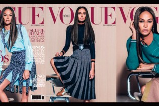No te pierdas a Joan Smalls en la edición de septiembre de Vogue México