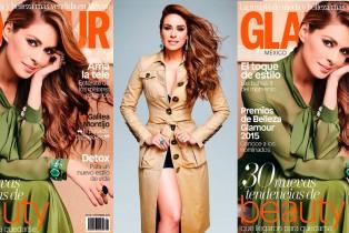 Galilea Montijo en Portada de Glamour México Septiembre