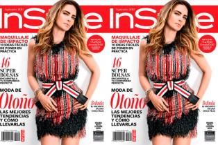 Belinda encanta la portada de septiembre de Instyle