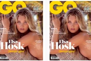 GQ Agosto- Elsa Hosk en portada