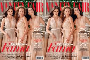 Vanity Fair Septiembre- Ana de la Reguera, Karla Souza y Kate del Castillo
