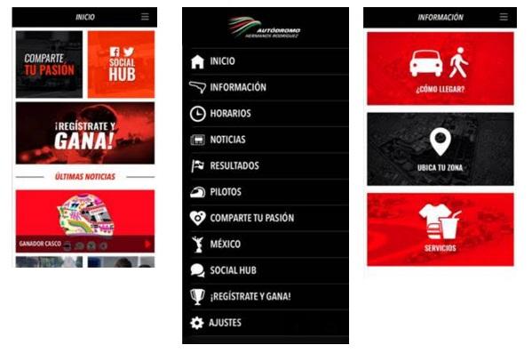 Nueva app del aut dromo hermanos rodr guez multipress for Puerta 6 autodromo hermanos rodriguez ubicacion