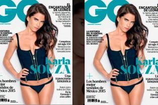 Karla Souza en portada de GQ Octubre