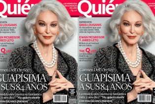 """Vieja no es una mala palabra"": Carmen Dell'Orefice, modelo legendaria"