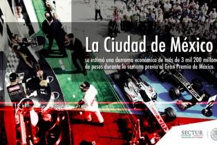 Recibe México de la FIA Reconocimiento como mejor promotor de Fórmula 1 en 2015