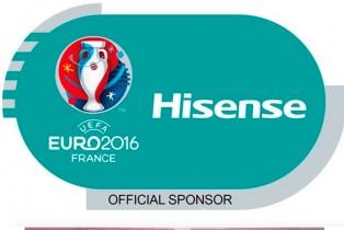 HISENSE firma como patrocinador de la UEFA EURO 2016