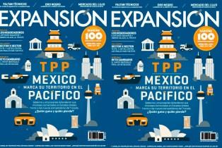 Expansión presenta su edición: México marca su territorio en el Pacífico