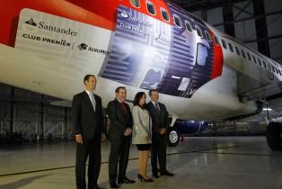 Lanzamiento de nueva tarjeta Santander Aeroméxico