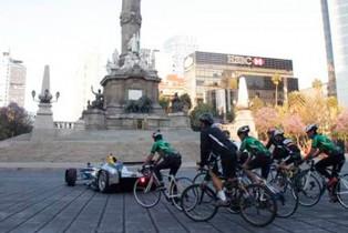 La fórmula E electriza las calles de la Ciudad de México
