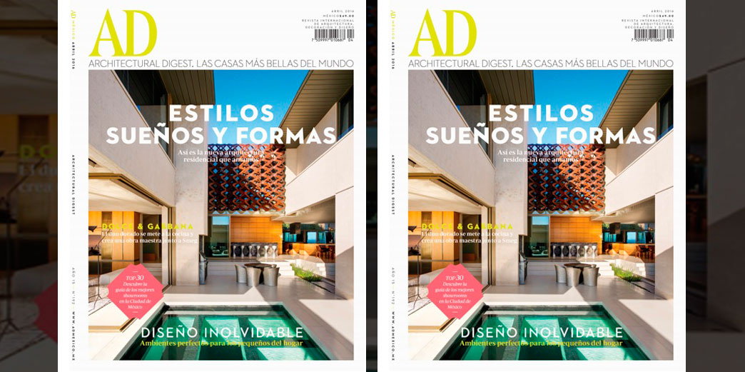 Architectural Digest Abril 2016 Multipress
