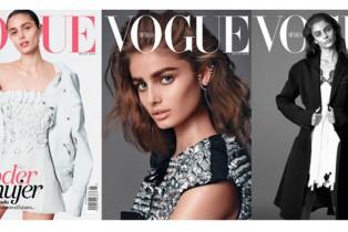 #VogueMayo Taylor Hill en portada