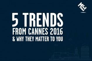 MEC identifica las tendencias que dominan el festival Cannes Lions 2016