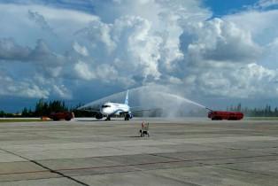 Llega Interjet a Santa Clara, Cuba