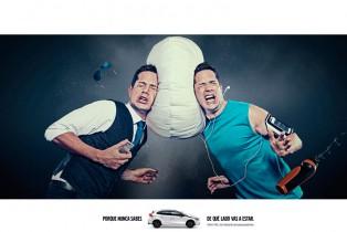 Galardonan campaña publicitaria de VOLVO de bolsas de aire para peatones