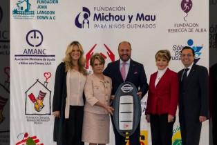 Nissan desarrolla alianza de cooperación en apoyo a la Fundación Michou y Mau