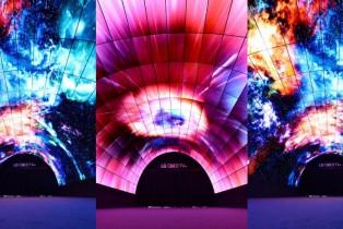 El Túnel de OLED más largo del mundo da la bienvenida a los visitantes