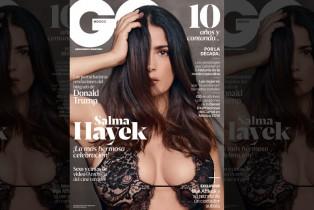 GQ México celebra su 10° Aniversario con una potente portada protagonizada por Salma Hayek