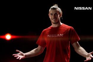 Nissan presenta a las estrellas de la Liga de Campeones de la UEFA, Gareth Bale y Sergio Agüero
