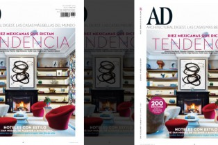 Architectural Digest, diciembre 2016: Mexicanas que dictan tendencias